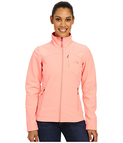 New the North Face Women's Apex Bionic Jacket (Small, Neon Peach)
