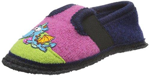 Kitz - Pichler Bobby Dinos - Zapatilla de estar Por casa Unisex Niños Rosa - Pink (Lippstick 9749)