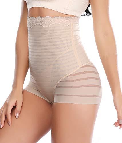 (Vaslanda Womens High Waist Tummy Control Panties Butt Lifter Underwear Body Slimming Waist Shaper Girdle Panty)