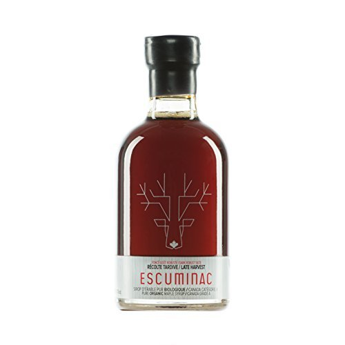 Award Winning Escuminac Canadian Maple Syrup Gift Bundle Grade A Including Our Extra Rare, Great Harvest and Late Harvest - Pure Organic Unblended Single Forest - 3 X 6.8 fl oz (200 ml) - Easter Gift by Escuminac (Image #3)