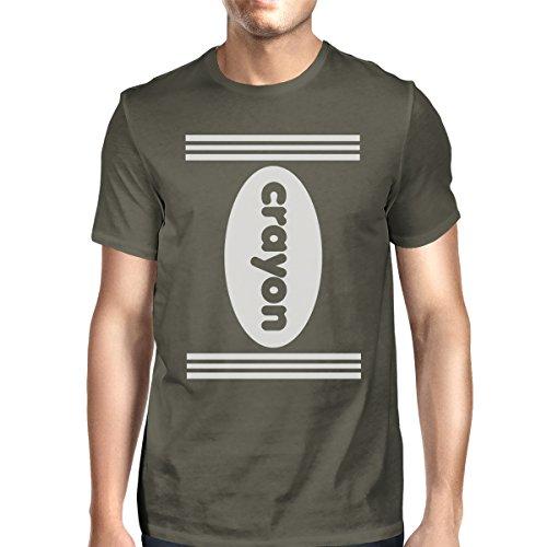 manga hombre para Talla 365 de corta Printing Gris Oscuro nica Camiseta CYUwtnxPpq