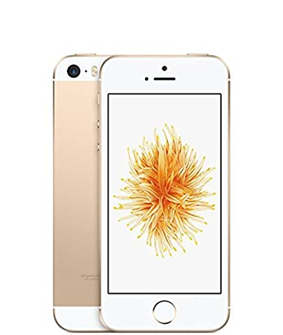 Apple iPhone SE 16GB Factory Unlocked LTE Smartphone - Champagne Gold (Certified Refurbished) (Iphone S5 Unlocked Gold)