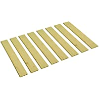 Detached Custom Cut Bed Slat Support Boards for Antique or Unique Sized Beds - Twin/Full/Three Quarter Sized - Cut to the Width of Your Choice (38 Wide)