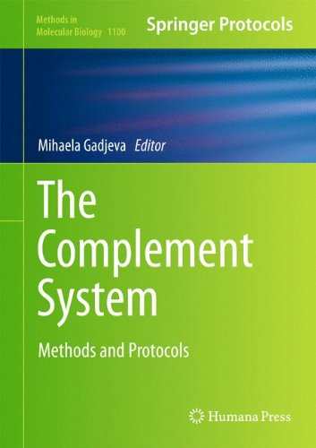 The Complement System  Methods And Protocols  Methods In Molecular Biology