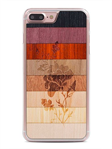 iPhone Flower Carved Unique Wooden product image