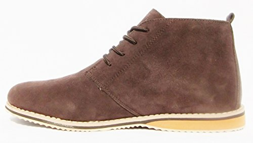 Mens Suede Leather Northwest Territory Casual Formal Boots Brown