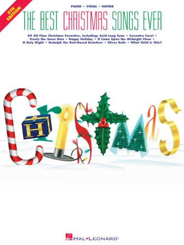The Best Christmas Songs Ever Songbook (Best Ever)
