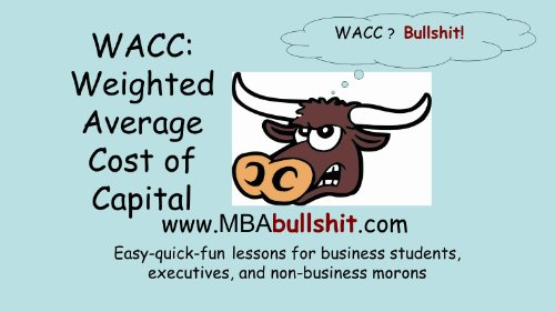 WACC Lecture Notes - Weighted Average Cost of Capital (CHEAT-SHEET Better Than Your Textbook Series) (Better Than Average Llc compare prices)