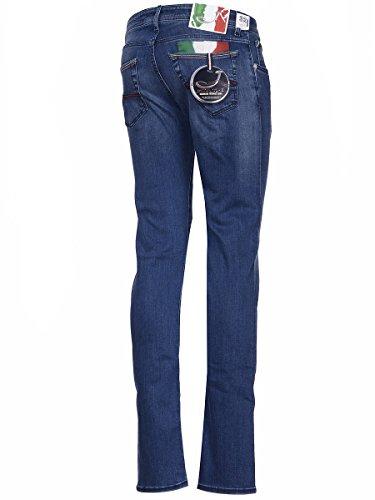 Jacob Cohen Homme J62206152002 Bleu Coton Jeans