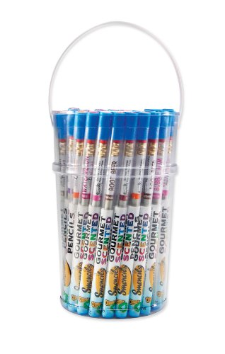 Educational Insights Bucket Of 50 Gourmet Scented Pencils