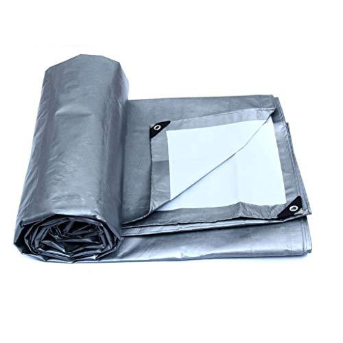 (ATR Tarpaulin Thicken Lightweight Convenience no Sunscreen Outdoor foil Canvas Insulation Waterproof Fabric Weatherproof Easy to fold (Size: 5 6m))
