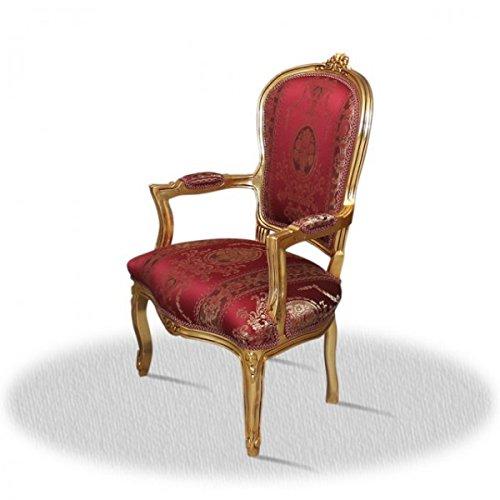 LouisXV Barroco silla de estilo antiguo AlCh0307GoRdB rococó ...