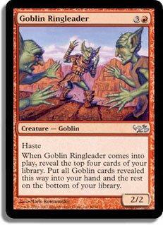 Magic: the Gathering - Goblin Ringleader - Duel Decks: Elves vs Goblins