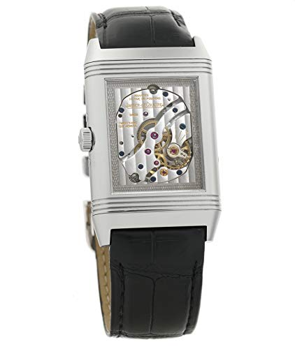 (Jaeger LeCoultre Grande Reverso Mechanical-Hand-Wind Male Watch 375.84.20 (Certified Pre-Owned))