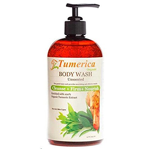 Tumerica Body Wash, Unscented, 15 Ounce