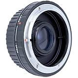Metall Objektivadapter für FD Objektiv an Canon EOS bajonett mit Ausgleichslinse für unendlich, kompatibel zu Canon EOS 1100D, 1000D, 100D, 700D, 650D, 600D, 550D, 500D, 450D, 400D, 350D, 300D, 60D, 50D, 40D, 30D, 20D, 10D, 7D, 650D, 700D