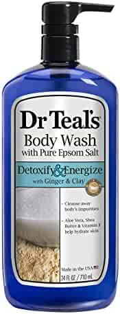 Dr Teal's Body Wash, Detox, 24 Ounce