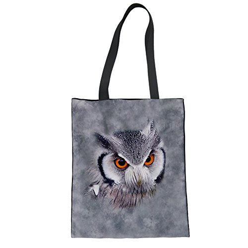 Showudesigns CC3516Z22, Borsa a mano donna Marrone Brown Taglia unica owl 1