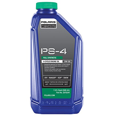 Polaris Factory OEM Sportsman ATV Ranger Razor RZR PS4 Oil 3