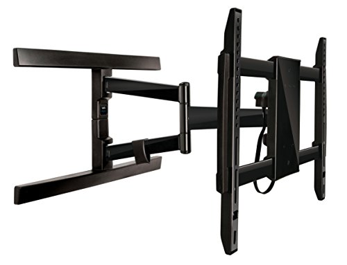 Bell'O Digital 7846B  Articulating Full Motion TV Wall Mount for TVs up to 70'' , Black by Bello Digital