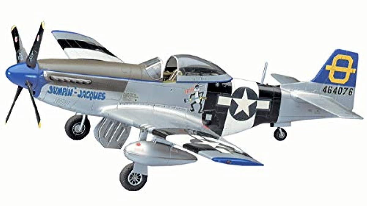 [해외] 하세가와 1/48 미국 육군 P-51D 무스탕 프라모델  JT30