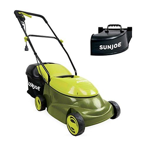 Sun Joe MJ401E-PRO 14 inch 13 Amp Electric Lawn Mower w/Side Discharge Chute, 14″, Green