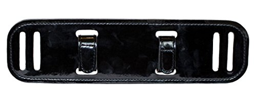 - BackUpBrace Duty Belt Back Support (Patent (Gloss) Leather) - For Use With Police Utility Belt - Reduce Strain, Pressure and Pain While Supporting Your Lower Back - Designed for Men & Women
