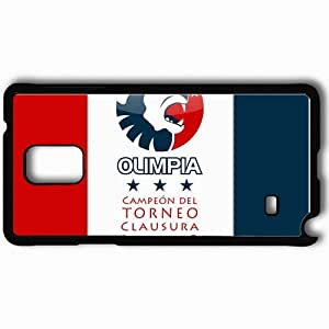 Personalized Samsung Note 4 Cell phone Case/Cover Skin Olimpia concacaf honduras cd olimpia Black