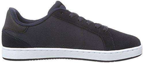 Etnies Fader Ls Skate Shoe Navy / Bianco
