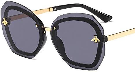 Ou lida Abeille sans cadre lunettes de soleil irrégulières lunettes hommes et femmes lunettes de soleil lunettes de soleil
