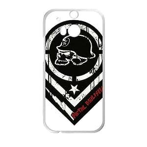 Happy metal mulisha logo vector Phone Case for HTC One M8