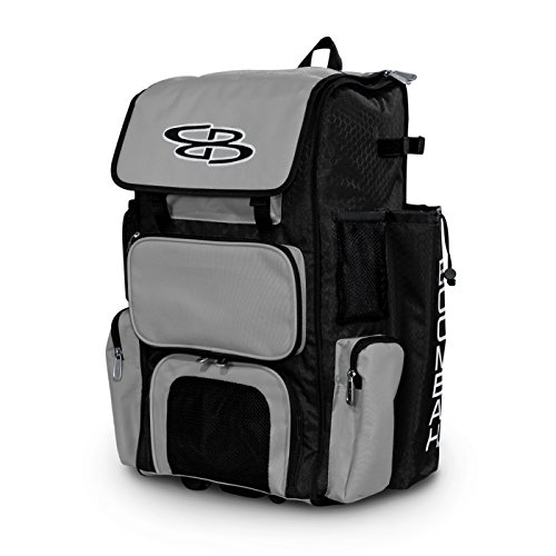 Boombah Rolling Superpack Baseball/Softball Gear Bag - 23-1/2