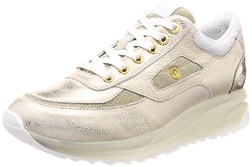 Bogner New York Lady 10, Sneaker Donna Gold (Platinum)