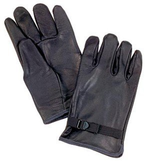 D-3A Black Leather Gloves (2) ()