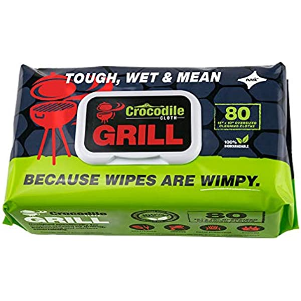 Grate Chef 50110 6 Grill Wipes