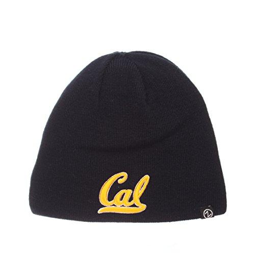ZHATS Cal Berkeley Golden Bears Reversible Edge Skull Cap - NCAA 2-Sided Knit Beanie - Cap Skull Reversible