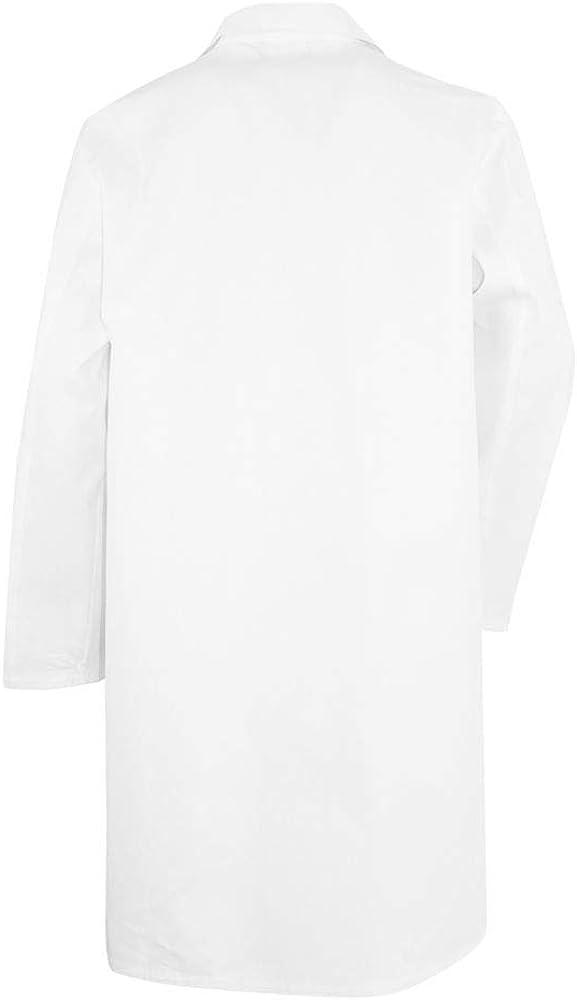 100/% Cotone Camice Bianco da Laboratorio LMA