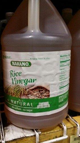 Nakano All Natural Rice Vinegar 1 Gal (2 Pack) by Nakano