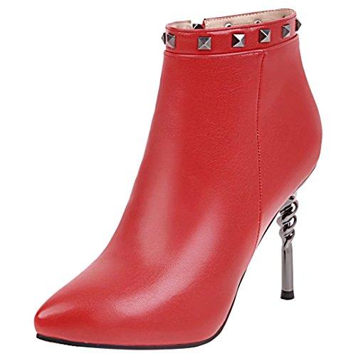 AIYOUMEI Red Classic Women's Classic AIYOUMEI Boot Red Boot Women's AIYOUMEI gwrq4g