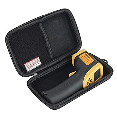 Hermitshell Hard Travel Case for Etekcity Lasergrip 800 Digital Infrared Thermometer Laser Temperature Gun