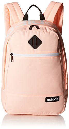 adidas Unisex Court Lite Backpack, Clear Orange/White/Black, ONE SIZE