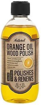 Lakeland–Aceite de naranja para pulir madera - 500ml–Revive y renueva los muebles de madera