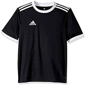 adidas Boys Jersey S1906GHTAN102Y-P, Boys, Jersey, S1906GHTAN102Y, Black/White, XX-Small