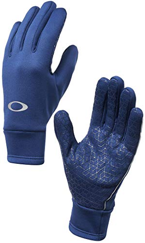 - Oakley Mens FLEECE GLOVE, Dark Blue, XL