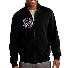Men's Bassnectar Beautiful Galaxy Logo Full- Zip Sweatshirt Jacket