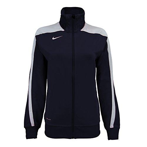 Nike Women's Mystifi Warm-Up Jacket Navy (2XL)
