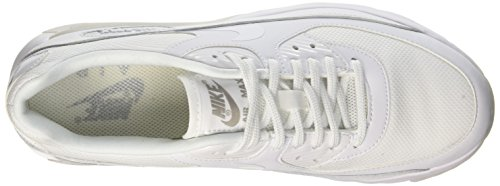 Essential Mujer Nike Deporte White Blanco Metallic Zapatillas White de W Max Ultra 90 Para Silver Air qXwpqv