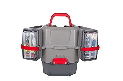 Plano PLAM80700 Kayak V-Crate Tackle Box and Bait Storage