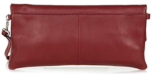 Taschenloft, Borsa a spalla donna taglia unica Rosso (Dunkelrot)