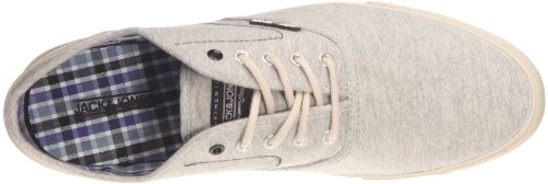 JACK & JONES JJ Spider, Herren Sneaker Grau - Gris (Grey melange)